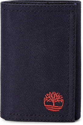 Timberland Navy Trifold ID Wallet