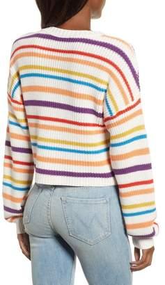 BP Multistripe Cotton Sweater