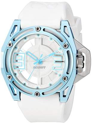 2xist 2(X) IST Men's 2X1-009 NYC Analog Display Analog Quartz White Watch