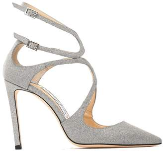 Jimmy Choo Lancer Silver Pump