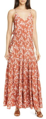 Dolan Anna Floral Tiered Maxi Sundress