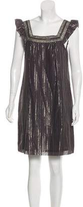 Marc by Marc Jacobs Metallic Striped Dress