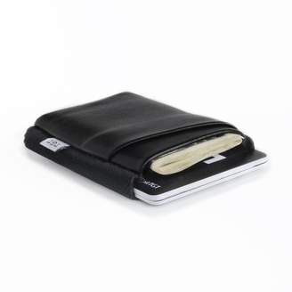 """Tgt """"Tight"""" TGT Slim Black Leather Wallet """"Nightcall Deluxe"""""""