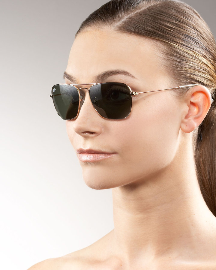 Ray Ban Caravan Aviator Sunglasses