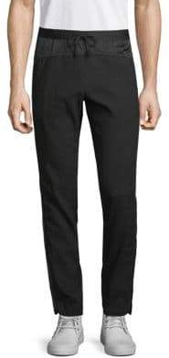 Dries Van Noten Padded Side Striped Pants