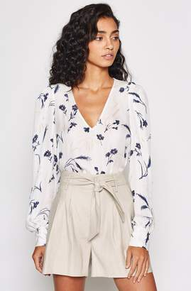 Joie Yadra Silk Floral Top