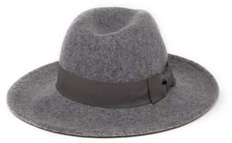 14th & Union Grosgrain Trim Felt Panama Hat