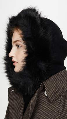 Eugenia Kim Paulina Faux Fur Cashmere Hood