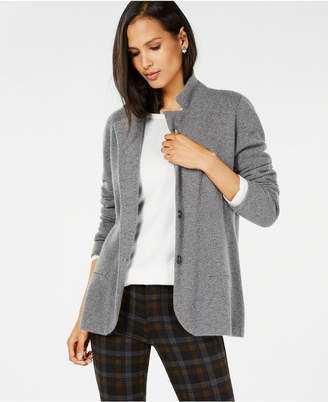Charter Club Pure Cashmere Blazer in Regular & Petite Sizes