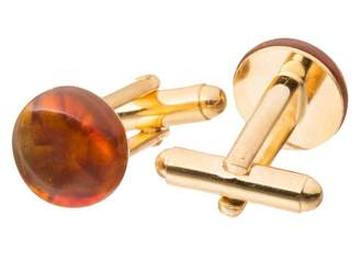 Gemshine Men Gold Plated Cufflinks - 1141CBod