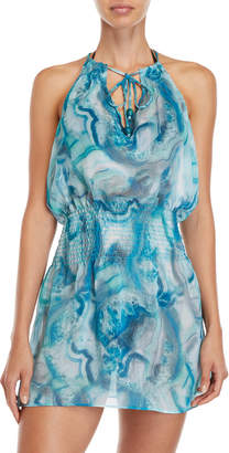 Becca Halter Swim Cover-Up