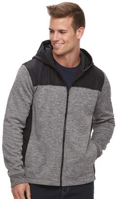 Apt. 9 Men's Mixed Media Quilted Hooded Jacket