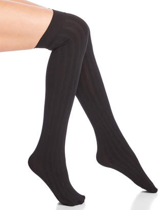 Steve Madden Two-Pack Ribbed Over-the-Knee Socks