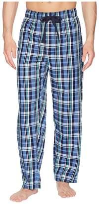 Jockey Plaid Poly/Rayon Sleep Pants Men's Pajama