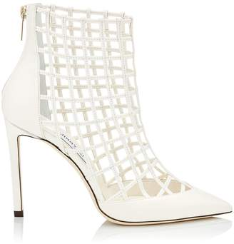 Jimmy Choo Sheldon 100 Caged Ankle Boots