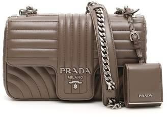 Prada Leather Diagramme Bag