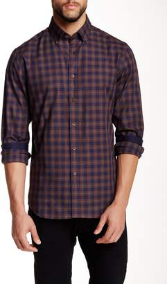 James Tattersall Romsey Overplaid Modern Fit Shirt