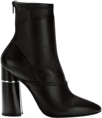 3.1 Phillip Lim Kyoto Black Leather Ankle Boots