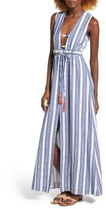 Women's Tularosa Essie Stripe Maxi Dress $198 thestylecure.com