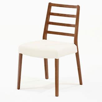 IDC OTSUKA/大塚家具 椅子 シネマ Aタイプ ウォールナット材/WN2色 PVCアイボリー
