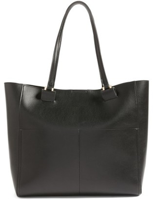 Sole Society Glenn Faux Leather Tote - Black $59.95 thestylecure.com