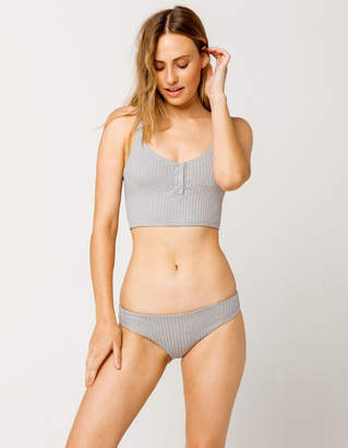 Tavik Ali Hipster Heather Gray Bikini Bottoms