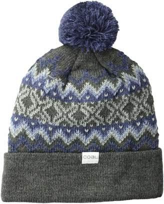fcc72013c04 Coal Men s The Winters Fine Knit Nordic Beanie Hat Pom