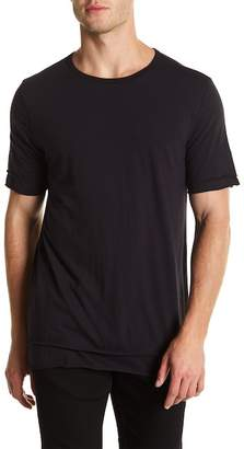 Public Opinion Double Layer Tee