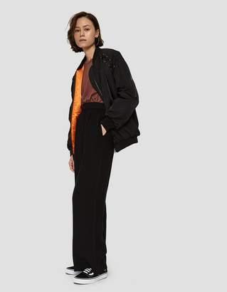 Illia Farrow Bomber Jacket in Black