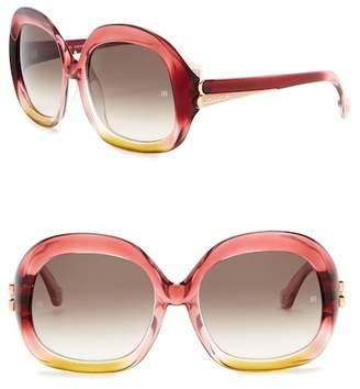 Balenciaga 58mm Oversized Sunglasses
