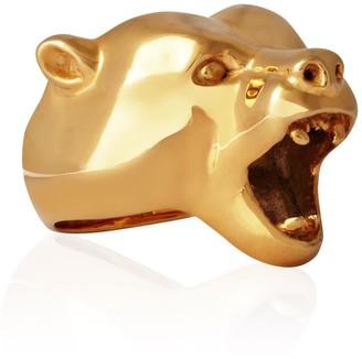 Strange Fruit Bear Ring Gold