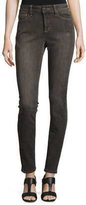 NYDJ Ami Distressed Super-Skinny Jeans, Dorchester $124 thestylecure.com