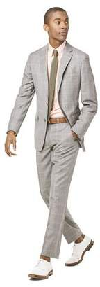 Todd Snyder White Label Prince of Wales Tropical Wool Sutton Suit Jacket in Grey