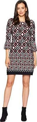 Gabby Skye Women's Printed Shift Dress