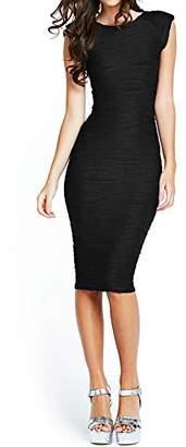 Taydey Women's Midi Dresses Sleeveless Knee Length Party Evening Dress (S