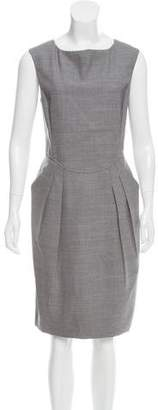 Magaschoni Wool Midi Dress