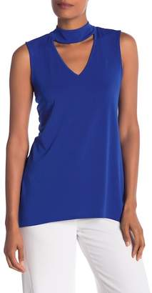 Cynthia Steffe CeCe by Sleeveless Choker Blouse