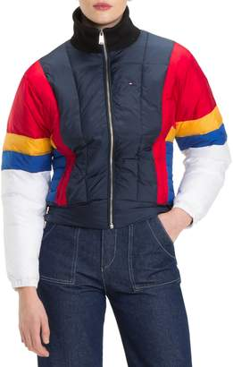 Tommy Jeans TJW Colorblock Puffer Jacket