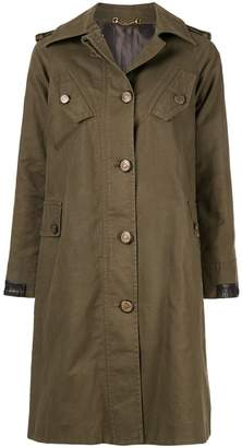 Gucci PRE-OWNED long sleeve coat