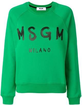 MSGM (エムエスジーエム) - MSGM ロゴスウェットシャツ