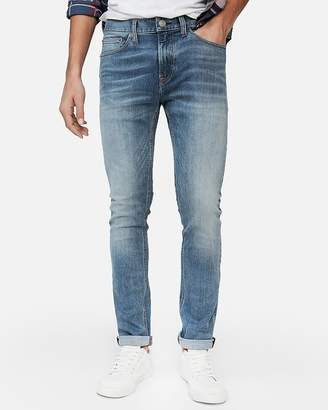 Express Slim Light Wash Tough Stretch+ Jeans