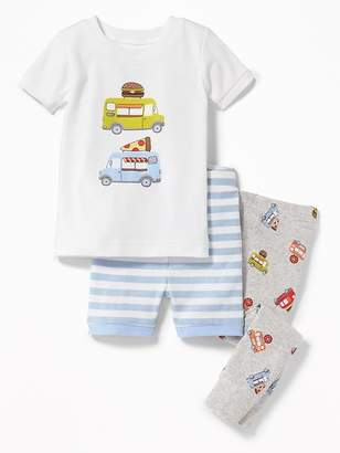 Old Navy Food Truck 3-Piece Sleep Set for Toddler & Baby