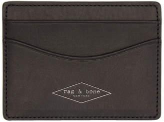 Rag & Bone (ラグ アンド ボーン) - rag & bone ブラック Hampshire カード ホルダー