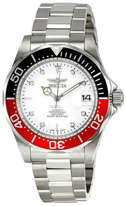 Invicta Pro Diver Automatic Silver Dial Men's Watch
