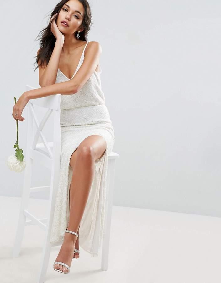 AsosASOS BRIDAL Cami Embellished Maxi Dress