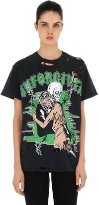 Warren Lotas Distressed Graphic Jersey T-Shirt