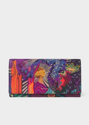 Paul Smith Women's 'Dreamer' Print Leather Tri-Fold Wallet