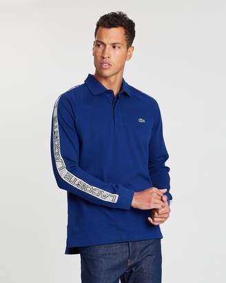Lacoste Rugby with Logo Sleeve