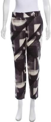 Halston Silk Mid-Rise Pants w/ Tags