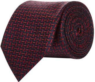 Pal Zileri Herringbone Fleck Silk Tie